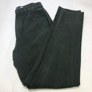 Liz Claiborne  Classicf Fit Jeans Olive 8
